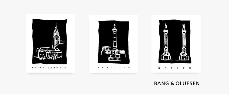 pictogrammes-Bang & Olufsen Paris