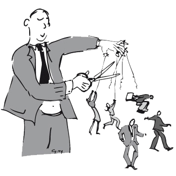 illustration rubrique Management des entreprises LE FIGARO