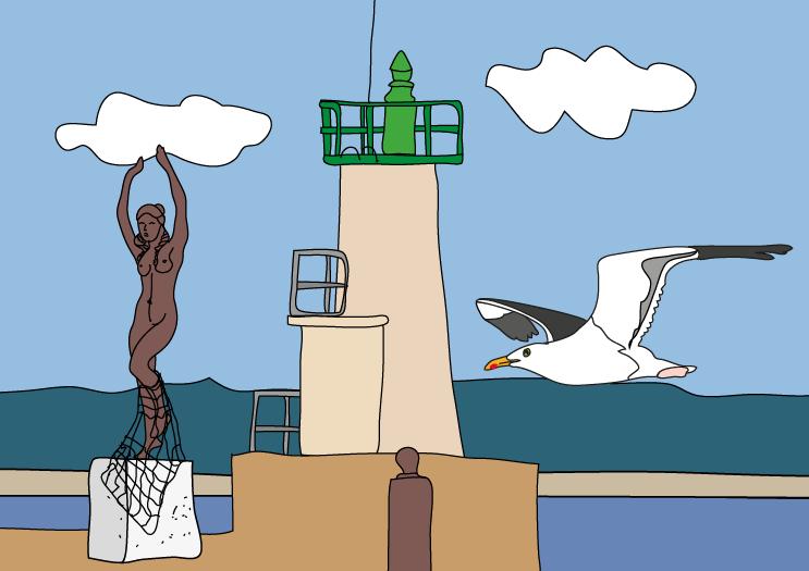 coloriage du carnet de jeux- Office de tourisme de Quiberon