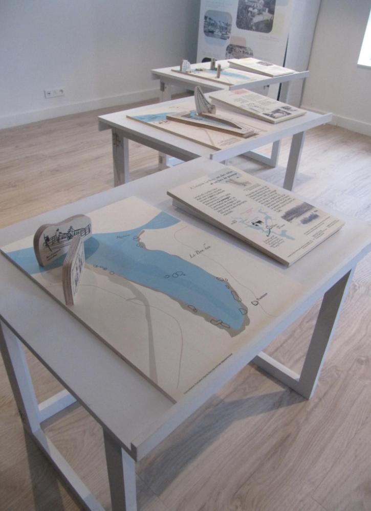 table de présentation-maquettes
